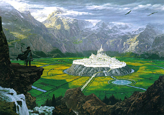 Tuor Reaches the Hidden City of Gondolin (1996)